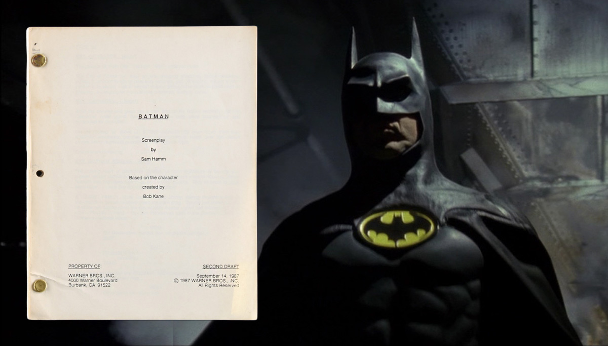 "Sam Hamm's Script for ""Batman"""