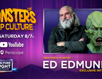 Pop Culture Tonight Interview Ed Edmunds